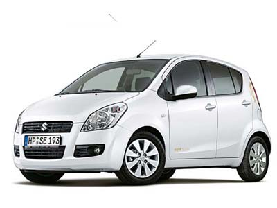 car rental Cyprus Suzuki Splash