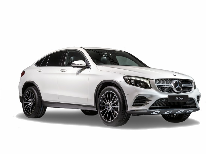 Mercedes-Benz GLC coupe te huur in Cyprus