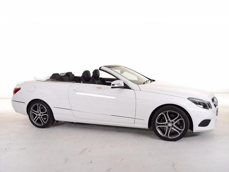 Mercedes-Benz E klasse cabriolet te huur in Cyprus